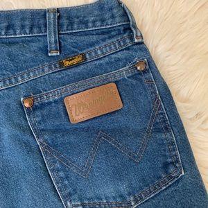 Vintage Wrangler high rise cut off shorts